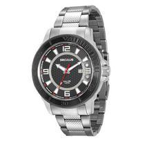 Relógio Seculus Masculino Analógico Prata 23561GPSVCA1 -