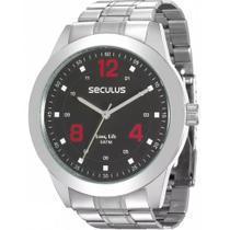 Relógio Seculus Masculino Analógico Prata 28886g0svna1 -