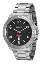 Relógio Seculus Masculino Analógico Prateado 20447g0svna1 -