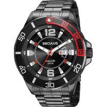 Relógio Seculus Masculino Analógico Prova D'Água 23652GPSVPA2 -