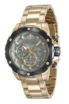 Relógio seculus masculino dourado 13017gpsvda1 -