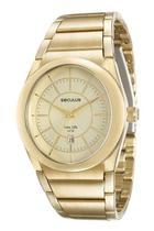 Relógio seculus masculino dourado 23537gpsvda1 -
