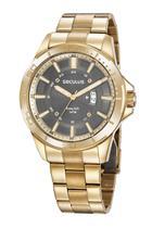 Relógio Seculus Masculino Dourado 35023GPSVDA1 -
