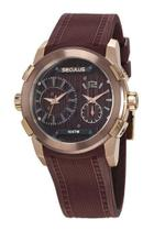 Relógio Seculus Masculino Esportivo Marrom 35005GPSVXU2 -