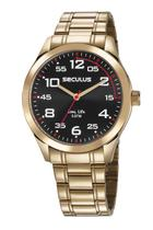 Relógio Seculus Masculino Linha Long Life 23655GPSVDA2 -