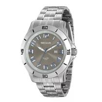 Relógio Seculus Masculino Long Life - 20338G0SVNA1 -