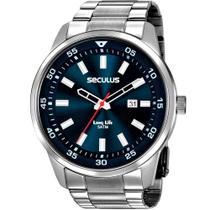 Relógio Seculus Masculino Long Life 20786G0SVNA1 -