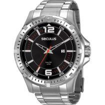 Relógio Seculus Masculino Long Life 20788G0SVNA1 -
