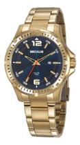 Relógio Seculus Masculino Long Life 20788GPSVDA4 -