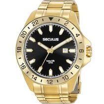 Relógio Seculus Masculino Long Life 20801GPSVDA2 -