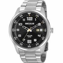 Relógio Seculus Masculino Long Life 20802G0SVNA3 -
