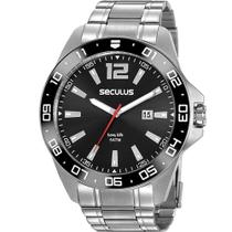 Relógio Seculus Masculino Long Life 20809G0SVNA3 -