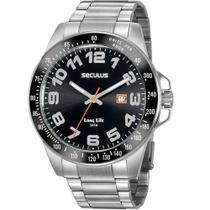 Relógio Seculus Masculino Long Life 20928G0SVNA2 -