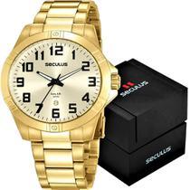 Relógio Seculus Masculino Long Life 20959GPSVDA2 -