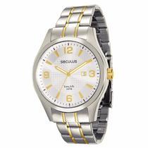 Relógio Seculus Masculino Long Life - 28752GPSVBA1 -