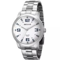 Relógio Seculus Masculino Long Life 28827g0svna2 -