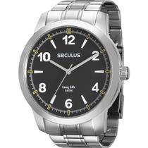 Relógio Seculus Masculino Long Life 28828g0svna1 -