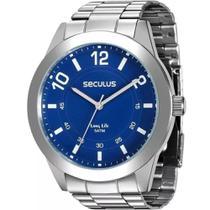 Relógio Seculus Masculino Long Life 28883g0svna2 -