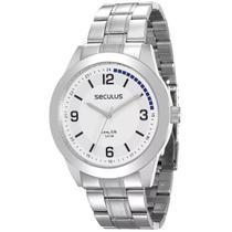 Relógio Seculus Masculino Long Life 28885G0SVNA1 -