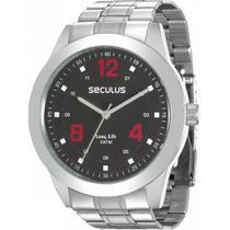 Relógio Seculus Masculino Long Life 28886G0SVNA1 -