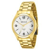 Relógio Seculus Masculino Long Life 28891GPSVDA2 -