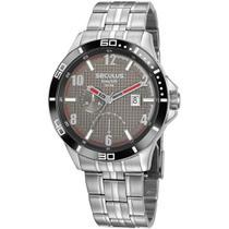 Relógio Seculus Masculino Long Life 35022G0SVNA1 -