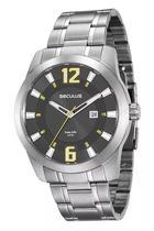 Relógio Seculus Masculino Long Life Analógico 20496G0SVNA2 -
