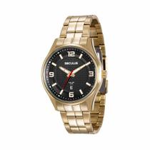 Relógio Seculus Masculino Long Life Analógico 20571GPSVDA1 -