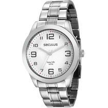 Relógio Seculus Masculino Long Life Analógico 28854G0SVNA1 -