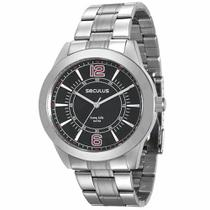 Relógio Seculus Masculino Long Life Analógico 28864G0SVNA1 -