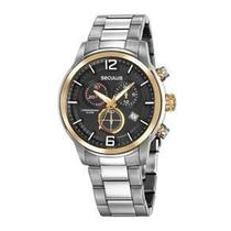 Relógio seculus masculino multifunção 13040g0svna1 -