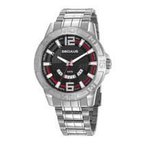 Relógio Seculus Masculino Original Ref:28997g0svna2 -
