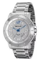 Relógio Seculus Masculino Prata 20385g0svna2 -