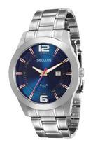 Relógio seculus masculino prata 20419g0svna1 -