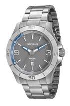 Relógio seculus masculino prata 20446g1svna1 -