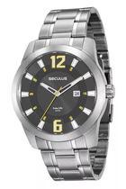 Relógio Seculus Masculino Prata 20496g0svna2 -