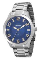 Relógio seculus masculino prata 20500g0svna2 -