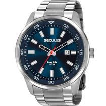 Relógio seculus masculino prata 20786g0svna1 -