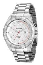 Relógio seculus masculino prata 28808g0svna1 -