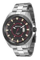 Relógio seculus masculino prata 28822gpsvca1 -