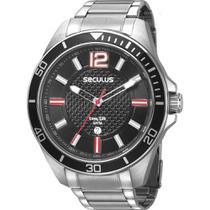 Relógio Seculus Masculino Prata 77036G0SVNA1 -