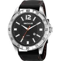 Relógio Seculus Masculino Prateado 23662G0SVNI1 -