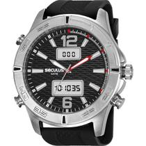 Relógio Seculus Masculino Preto 20751G0SVNI1 -