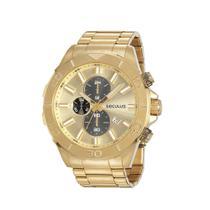 Relógio Seculus Masculino Prime Dourado 13045GPSVDA1 -