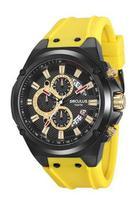 Relógio seculus masculino pulseira amarelo 20553gpsvpu1 -