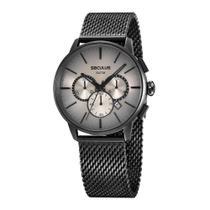 Relógio Seculus Masculino Ref: 13038gpsvpa3 Cronógrafo Black -