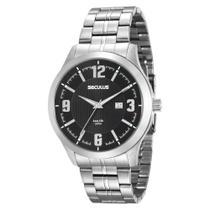 Relógio Seculus Masculino Ref: 20494g0svna2 Casual Prateado -