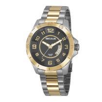 Relógio Seculus Masculino Ref: 20743gpsvba1 Esportivo Bicolor -