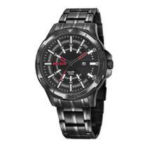 Relógio Seculus Masculino Ref: 20746gpsvpa1 Esportivo Black -