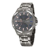 Relógio Seculus Masculino Ref: 20746gpsvsa2 Esportivo Fumê -